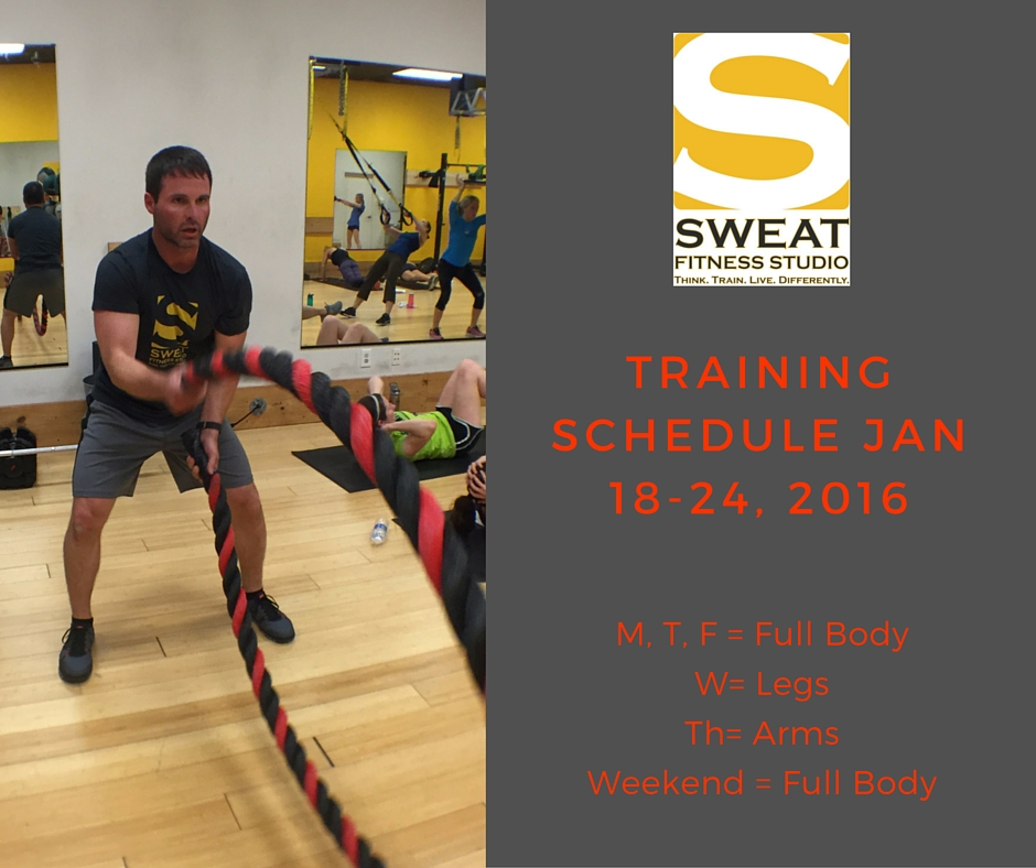 Sweat Training Schedule (1)